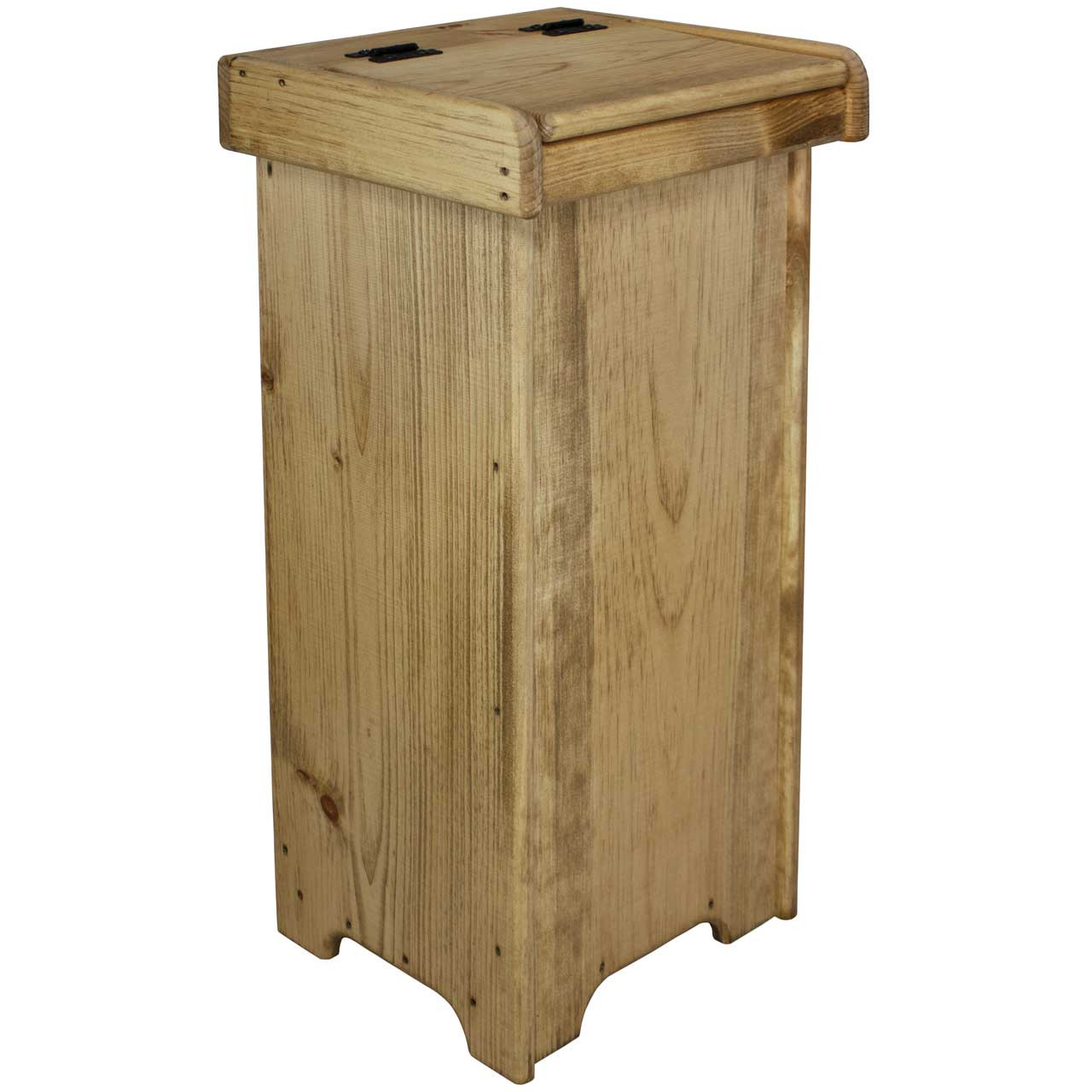 Swell Small Wooden Kitchen Trash Can With Lid Home Interior And Landscaping Eliaenasavecom