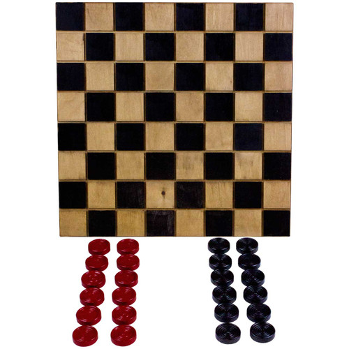 (checkers-side) Wooden-Tic-Tac-Toe-Board-and-Checkers-Game
