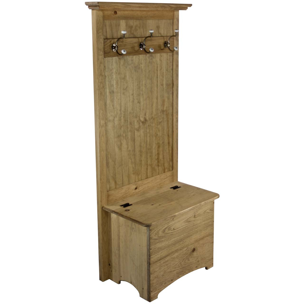 Narrow Hall Tree Storage Bench Entryway Coat Rack Bench Dnlwoodworks Com