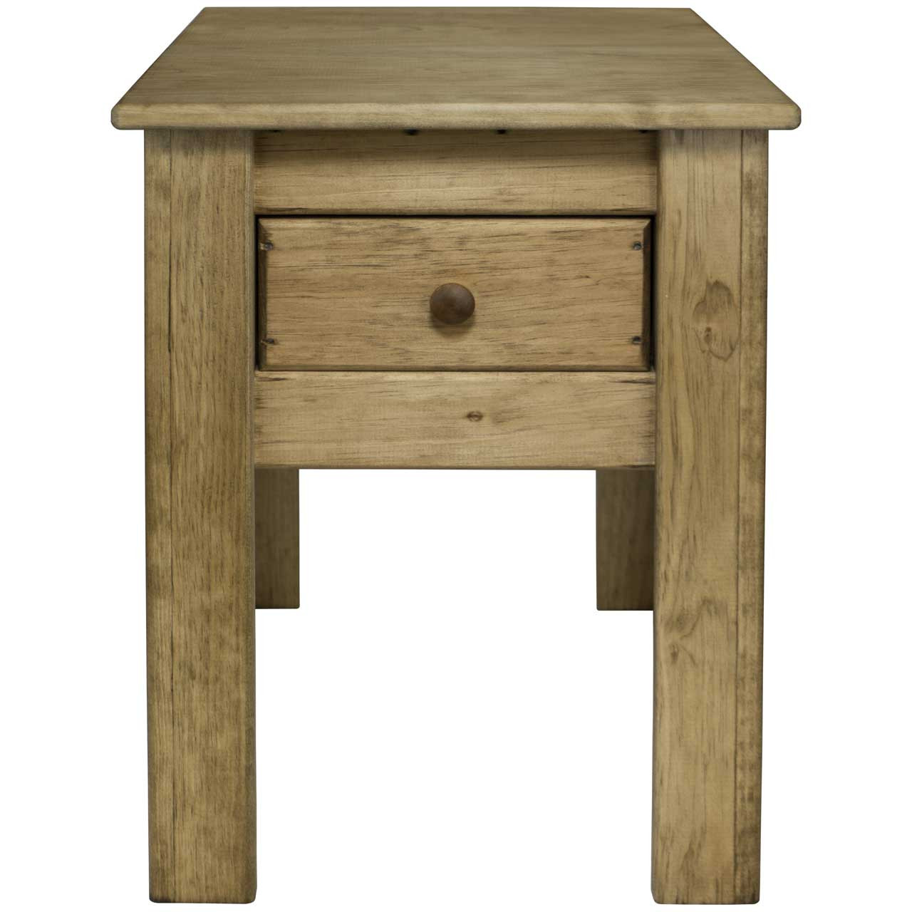 Shaker Wood Side Table | 24 inch High End Table - dnlwoodworks.com