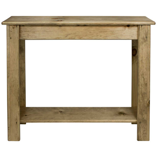 (front view) 36 inch Skinny-Sofa-Table