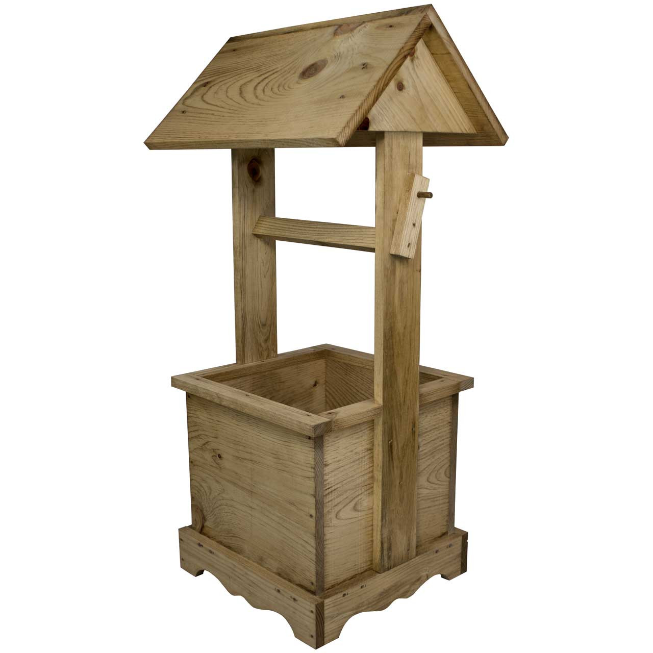 Wooden Wishing Well Yard Decor Wishing Well Pump Cover