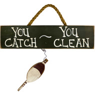 fish-cleaning-wood-fishing-sign with bobber