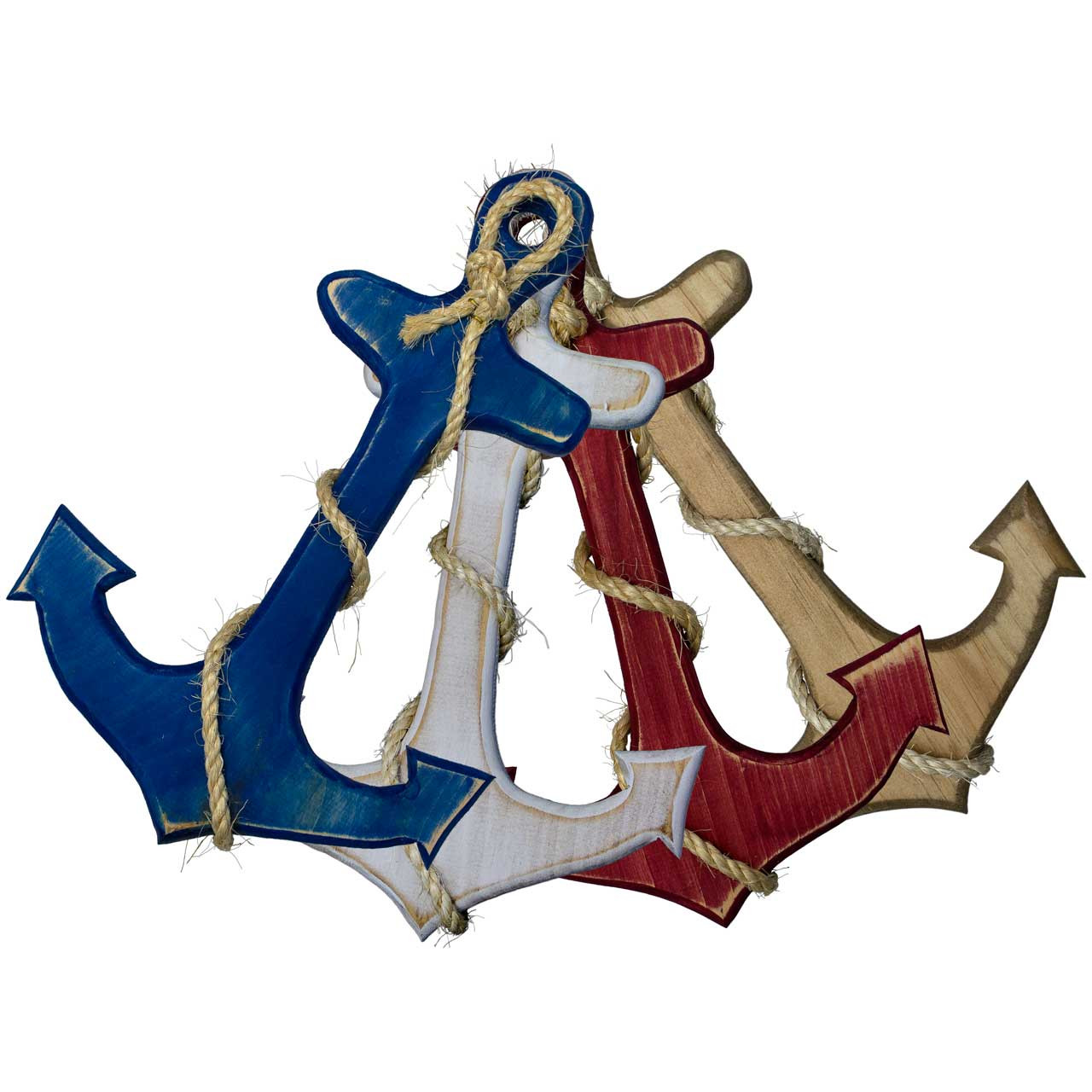 Small Ornamental Anchor With Rope