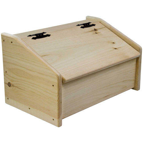 (angle-view) Wooden-Bread-Box-Unstained