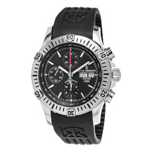 Revue Thommen Men's 16071.6839 'Air Speed' Rubber Chronograph Automatic Watch