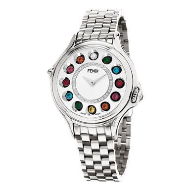 Fendi Timepieces Women's Swiss Diamond Bracelet Watch