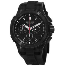 Concord Men's 0320138 'C2 Chronographe' Black Dial Automatic Watch
