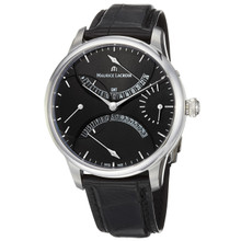 Maurice Lacroix Men's Master Piece Black Dial Retrograde Watch MP6518-SS001-330