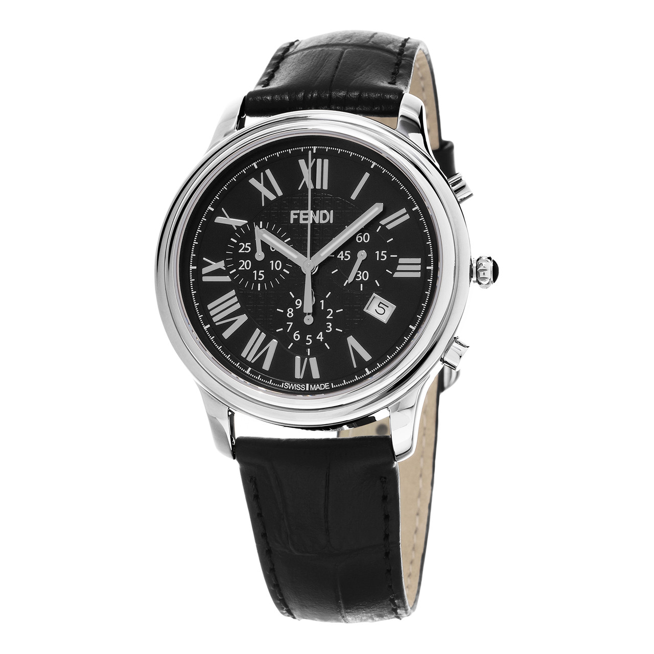 c3b7bbc3ba9d ... Fendi Men s F253011011  Classico  Chronograph Swiss Quartz Watch. Image  1. Loading zoom