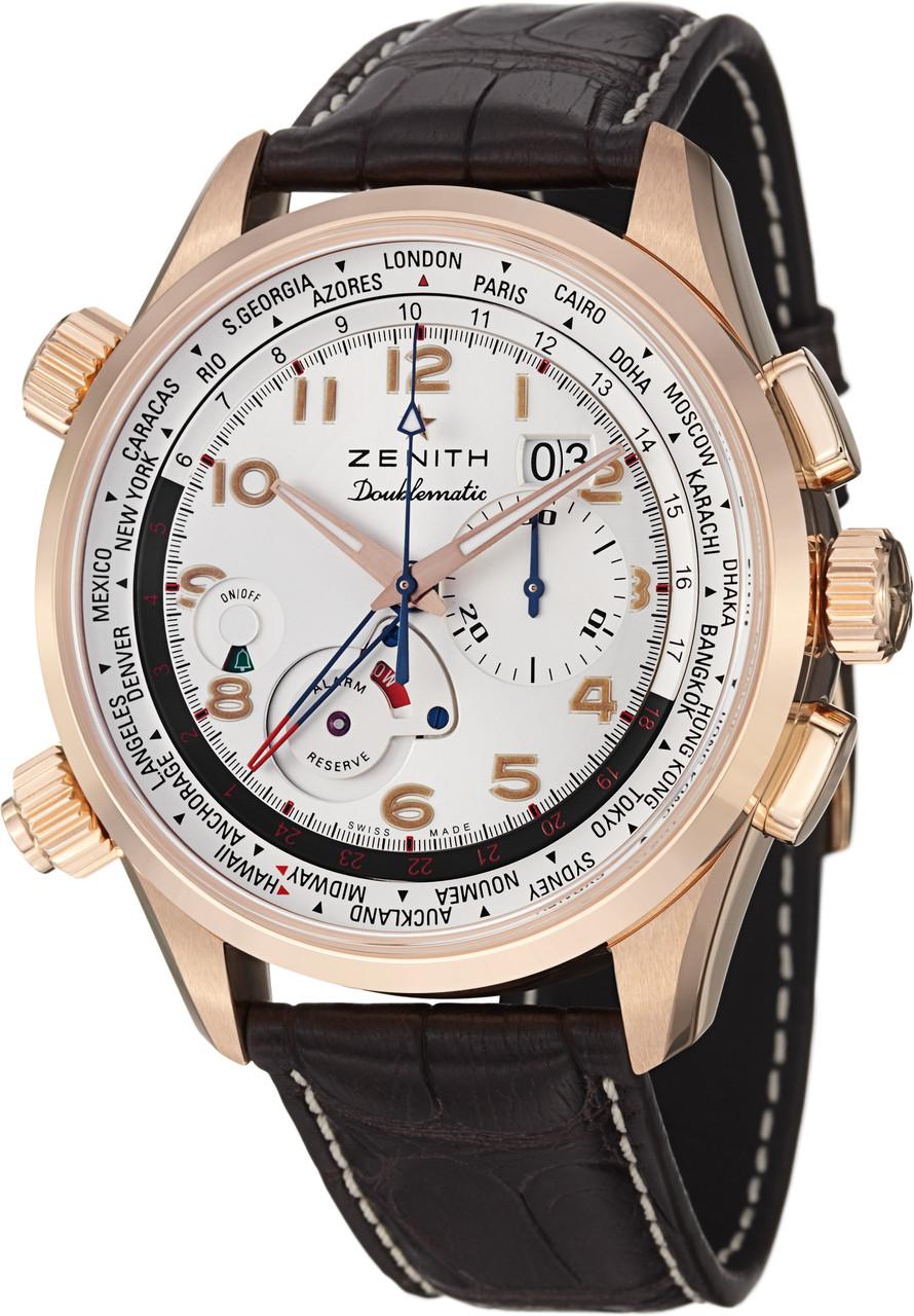 ec76b49b8ce ... Zenith Men s 1824004046.01C Pilot Analog Display Swiss Automatic Brown  Watch. Image 1. Loading zoom
