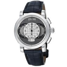 Paul Picot Men Technograph Grey Dial Chronograph Automatic Watch P0334-2Q.SG.A32
