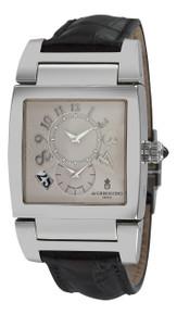de GRISOGONO Mens Instrumento No. Uno Automatic 2nd Time Zone Watch