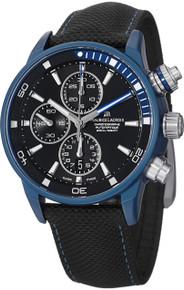 Maurice Lacriox Men PT6028-ALB11-331 Pontos Extreme Black Dial Chronograph Watch