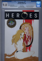 CGC 9.8 9th Wonders, Heroes #1 Wizard World Chicago Gold Foil Exclusive