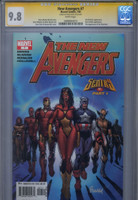 CGC 9.8 SS New Avengers #7, 1st Illuminati, David Finch