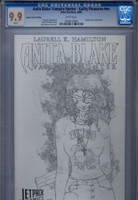 CGC 9.9 Anita Blake: Vampire Hunter - Guilty Pleasures Jetpack Sketch Variant