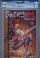 CGC 9.8 Witchblade: Takeru Manga #1 Fantastic Realm Limited Edition Variant