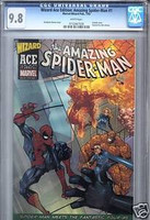 WIZARD ACE EDITION  THE AMAZING SPIDER-MAN #1 CGC 9.8