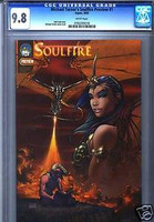 SOULFIRE PREVIEW EDITION MICHAEL TURNER CGC 9.8