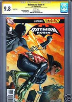 SS CGC 9.8 BATMAN AND ROBIN #1 J.G. JONES VARIANT