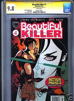 BEAUTIFUL KILLER #1 CGC 9.8 ADAM HUGHES COVER ART