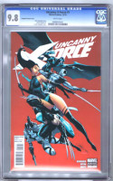 Uncanny X-Force #1 2010 SCOTT CAMPBELL Variant Cover