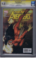 New Avengers #4 CGC 9.8 SS Variant Cover