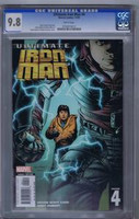Ultimate Iron Man #4 CGC 9.8