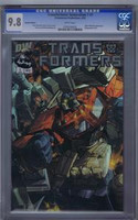 Transformers:Generation #1 Holofoil Edition CGC 9.8