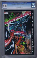 Superpowers 2007 Preview Edition #1 CGC 9.8