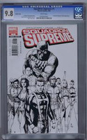 Squadron Supreme #1 Sketch Cover CGC 9.8