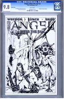 Angel:After the Fall #2 Sketch Cover CGC 9.8