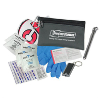 Auto Safety Zipper Tote Kit