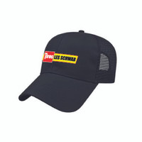 Polyester Mesh Back Cap Black