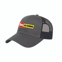 Polyester Mesh Back Cap (Grey/Black)
