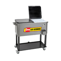 Rolling Vending Cart Cooler