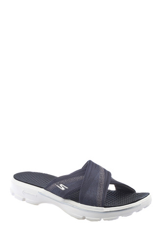 skechers slip on sandals