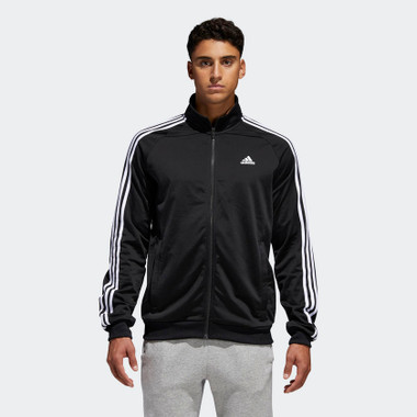half off c71a6 269ee Soles   Adidas Mens Essential Tricot Track Jacket