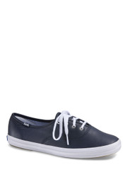 Keds Women Keds Champion Navy Leather