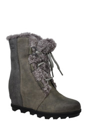 SOREL WOMEN JOAN OF ARCTIC WEDGE II SHEARLING BOOT