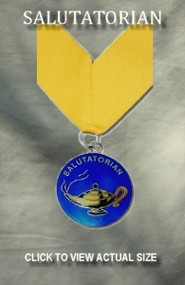 2 Inch Salutatorian Medallion