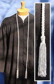 Silver / Grey Honor Cord - Single