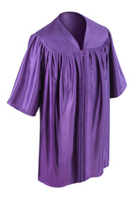 Purple Kinder Gown