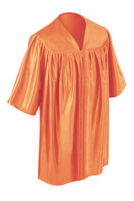 Orange Kinder Gown