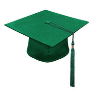 Green Kinder Cap & Tassel
