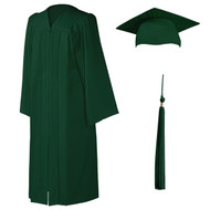 U-Forest Cap, Gown & Tassel