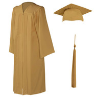 U-Old Gold Cap, Gown & Tassel