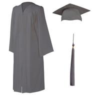 U-Gray Cap, Gown & Tassel