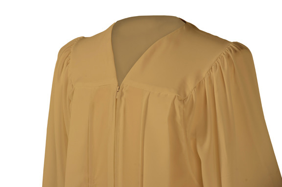 U Old Gold Gown University Cap Gown